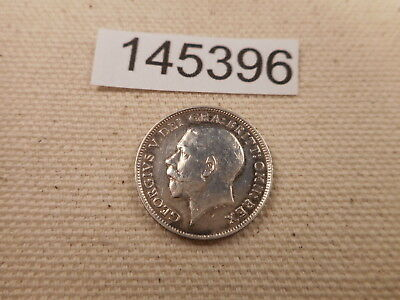 1916 Great Britain Sixpence - Nice WW I Era Collector Album Coin - # 145396