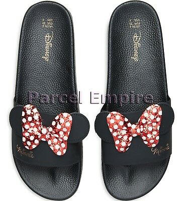 Primark Disney MINNIE MOUSE Pool Beach Flip Flops Sandals Sliders Mickey Shoes