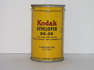 Kodak Dk-50 Developer Powder For Film And Plates Makes 1 Gallon