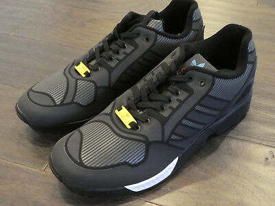 6edba79bc8a8f Adidas ZX Flux shoes mens new sneakers trainers 3M B54177 black