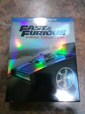 Fast and Furious: 8-Movie Collection(DVD,9-Disc Set)-BEST DEAL,DON'T MISS!!!