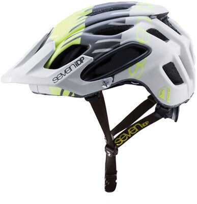 super quality classic shoes look out for Seven 7IDP M4 MTB Bike Helmet Gloss Yellow/Graphite Sporting Goods ...