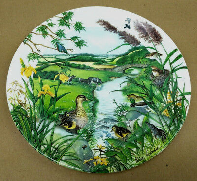 Wedgwood Colin Newman Plate The Meandering Stream 1987