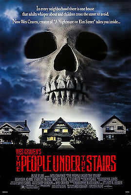 The People Under The Stairs (1991) Original Movie Poster  -  Rolled
