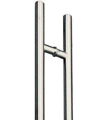 1200mm 32mm Round Stainless Steel Front/Entry Entrance Pull Handles DG102-1200