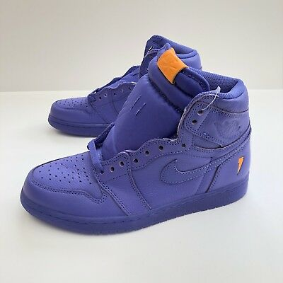 313562adf0d9 Nike Air Jordan 1 Retro Hi OG Gatorade Grape Rush Violet AJ6997-555 Mens  Size