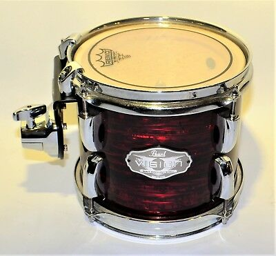 Pearl Vision Series Drum  SST Birch Ply Shell Brown Rack Tom Tom #1943