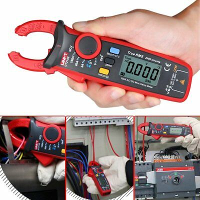 RMS AC/DC Current Digital Clamp Meter Multimeter 2000Counts UNI-T UT210E LOT HS