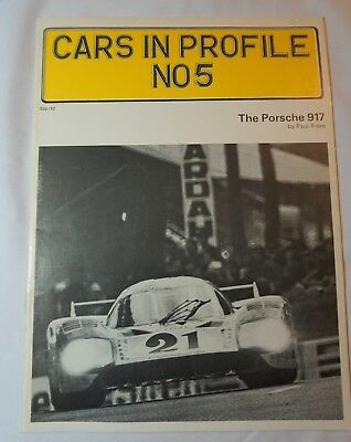 CARS IN PROFILE N0 5 The Porsche 917 January 1973