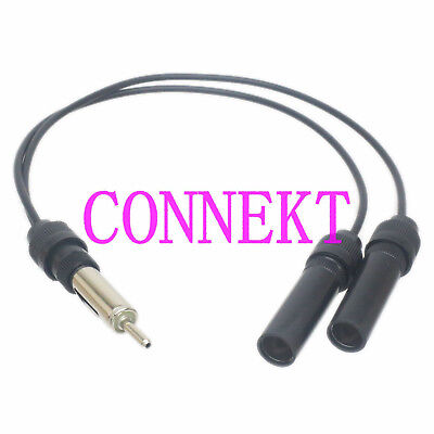 5X Auto Car Radio Stereo Din Male Aerial Antenna Repair Connector Plugs Bares HV