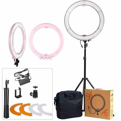 ASHANKS Ring Light With Stand 12in Camera Photo/Video 240 LED MSD 5500K Dimmable
