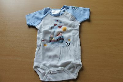 Body bleu claire motif chat taille 56