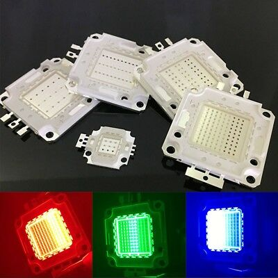 10W 20W 30W 50W 100W RGB High Power Full Color LED Lamp LED Spotlight COB ttoo