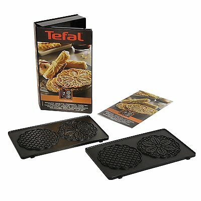Tefal Snack Collection 7, XA800712 Bricelet Maker Non Stick Plates New