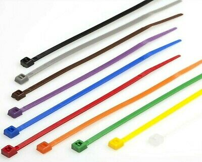 200 x 300mm x 4.8mm Cable Ties. Nylon Zip Cable Ties. various colours 7 Colours.