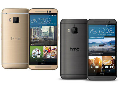 HTC ONE M9 32GB 20.0MP 4G LTE Android Unlocked Smartphone GOLD GREY UK