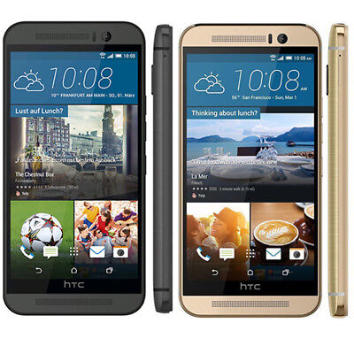 HTC ONE M9 GOLD GREY 32GB 20.0MP 4G LTE Android Unlocked Smartphone