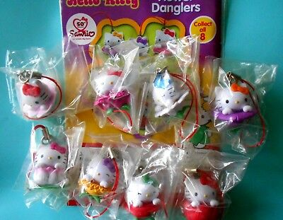Gadget HELLO KITTY FLOWER DANGLERS SANRIO COMPLETA