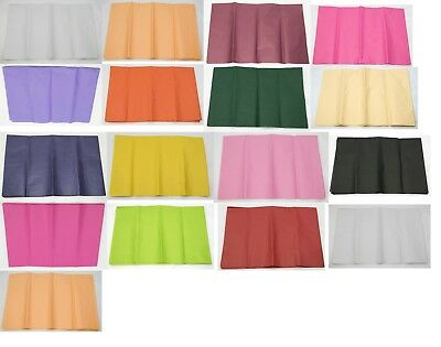 Tissue Paper (5 pack) Huge selection of colours