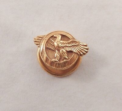 Ruptured Duck Lapel Button Pin Vintage Honorable Discharge WWII Military Service