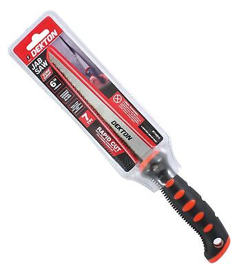 Jab Saw Soft Grip Plasterboard Jab Saw 150mm dry wall Padsaw Wall Saws