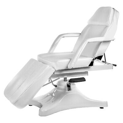 Electric Pedicure Chair Beauty Therapy Massage White Spa Bed New Treatment Table