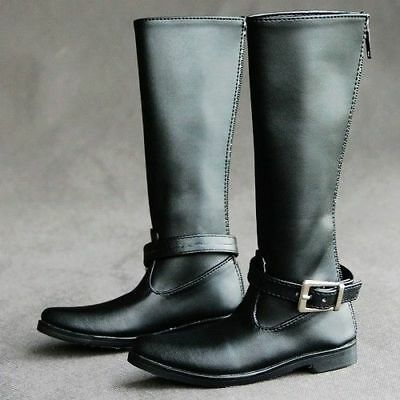 [wamami] SD17 Black Synthetic leather Boots Shoes DZ70 70CM BJD Doll Dollfie