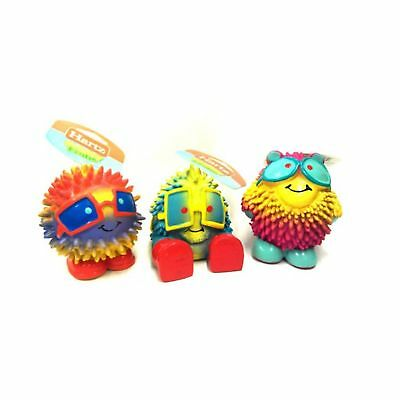 Hartz Frisky Frolic Latex Squeakable Dog Toy assorted characters pack of 1