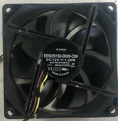 New Dell Vostro Inspiron XPS Fan EE92251S3-D000-C99