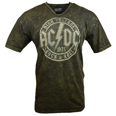 AC DC Men Tee T Shirt L XL ACDC Rock Roll Band Back Vintage Graphic s Tour NEW