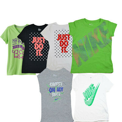 Girl's Youth Nike Athletic Cut Cotton Shirts 1 Shirt or lot of 2