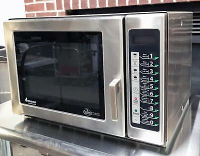 Amana Rfs12Sw2A Restaurant Equipment Subway Classic Commercial Microwave Oven