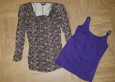 Maternity Tops Bundle Size 10 New Look, F&F