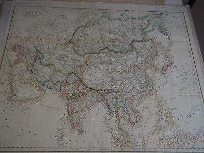 "Antique Map ""Asia"" by John Walker Geographer to the Hon. East India Company"