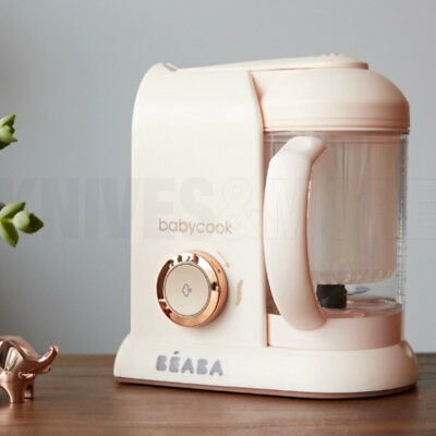 Limited Edition Beaba Babycook Solo Rose Gold Baby Food Processor Steam Blend Co