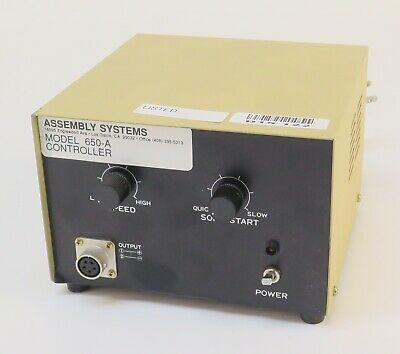 Assembly System 650-A Power Supply