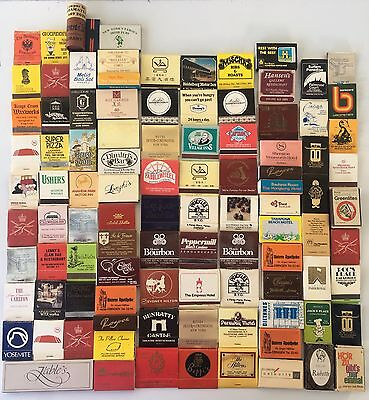Bulk Vintage Matchboxes x 100 from 1960s-1970s Matchbook Matchbox #9