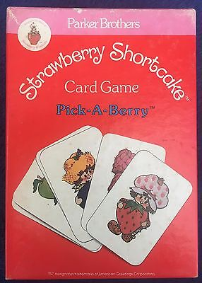 Strawberry Shortcake Card Game - 'Pick-A-Berry' by Parker Brothers 1979