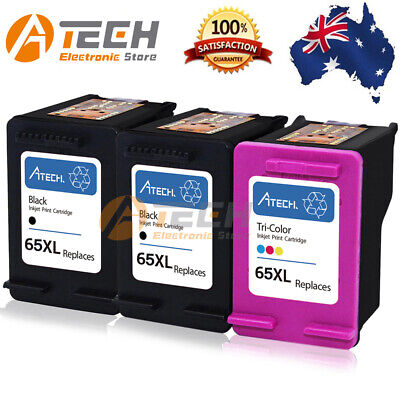 Black&Color Ink Cartridge for HP 65 XL Deskjet 3720 3722 3730 3752 2622 ENVY5020