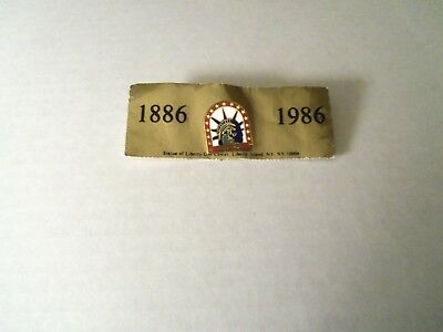 Statue Of Liberty Commemorative Pin 100th Anniversary 1986