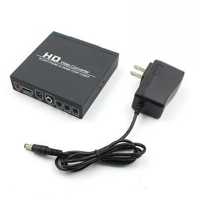 SCART/HDMI to HDMI 720P/080P HD Video Converter Adapter Upscaler Fr STB HDTV DVD