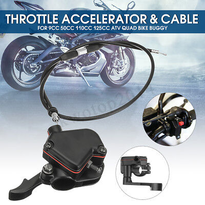 Atv,rv,boat & Other Vehicle Atv Parts & Accessories Accelerator Cable Set For Mini Moto Quad And 4 Stroke Quads Atv Pit Bike Universal Motorcycle 50-150cc 110cc Thumb Throttle