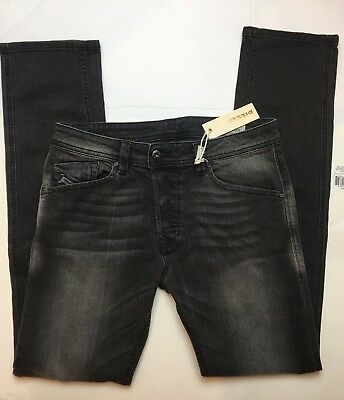 fdff10ad NWT Authentic Diesel Men's Darron Slim Tapered Jean Denim W30 x L32 Wash  ORZ67