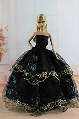 Fashion Princess Party Dress/Evening Clothes/Gown For 11.5in.Doll Y342U