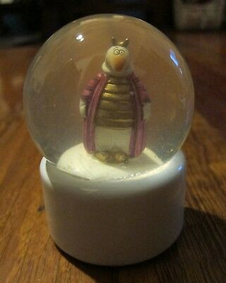 Goebel Skorpion Scorpio Glass & Ceramic Snow Dome Globe Excellent Condition