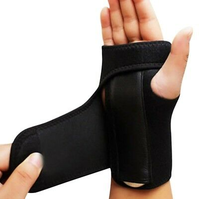Splint Sprains Arthritis Band Carpal Tunnel Hand Wrist Support Brace Protector