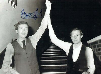 Steve DAVIS 2018 Signed Autograph Large 16x12 SNOOKER Photo A AFTAL COA Crucible