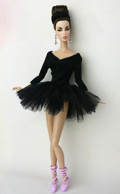 Fashion Handmade Ballet Dress/Clothes/Outfit For 11.5in.Doll Y01BL