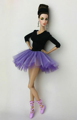 Fashion Handmade Ballet Dress/Clothes/Outfit For 11.5in.Doll Y03Pu