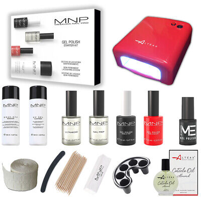 Mesauda Starter Kit Gel Polish 14 Ml +Smalto Semipermanente Omaggio+ Fornetto
